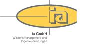 ia GmbH - Wissensmanagement und Ingenieurleistungen