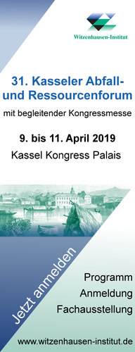 31. Kasseler Abfall- und Ressourcenforum 2019