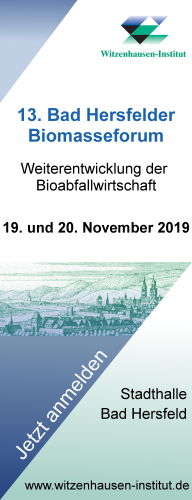 13. Bad Hersfelder Biomasseforum 2019